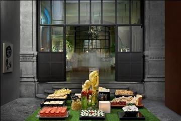 Serata in spa di lusso a Milano con aperitivo
