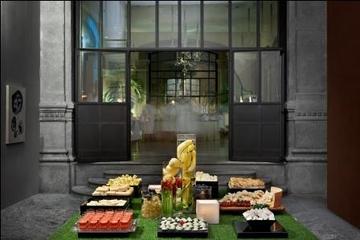 Spa de luxo noturno com aperitivos em Milão