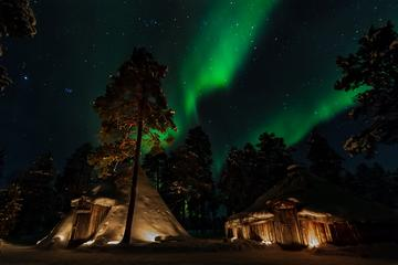 Hunting Northern Lights with Lappish Barbecue