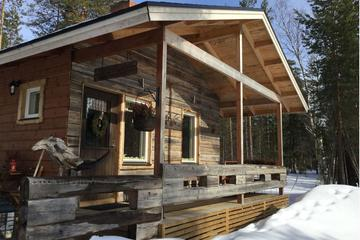 Lakeside Sauna Trip with Ice Fishing and Ice Swimming
