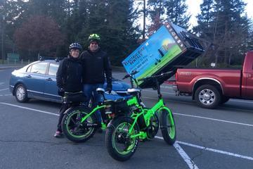 8 Hour Victoria Electric Bike Rental Delivered