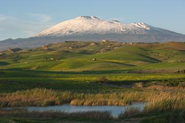 Excursion d'une journée sur l'Etna et à Taormine au départ de Cefalù