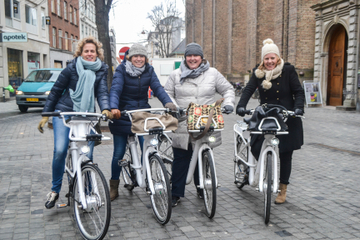 Circuit à vélo dans la ville de Copenhague