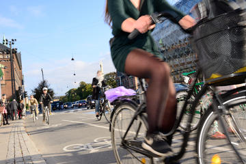 Circuit à vélo dans la ville de...