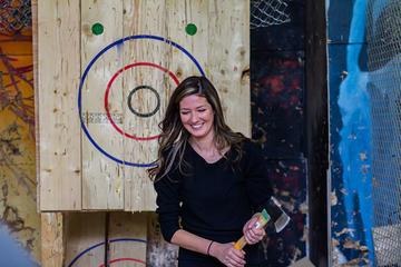Axe Throwing at BATL - The Backyard Axe Throwing League in Niagara Falls