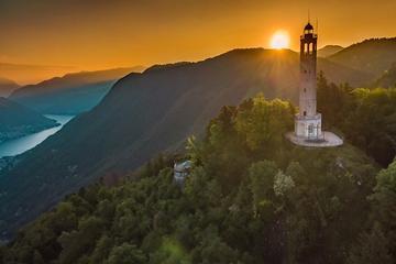 Volta Lighthouse and Brunate...