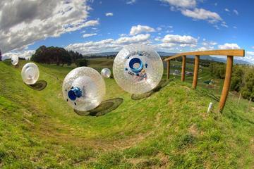 Zorbing en ballule OGO Rotorua