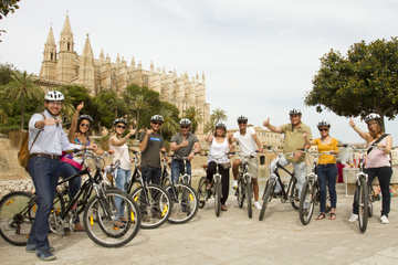 Excursion en vélo à Palma de Majorque avec tapas en option