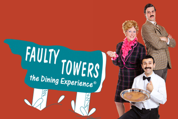 Experiência de jantar nas Faulty Towers