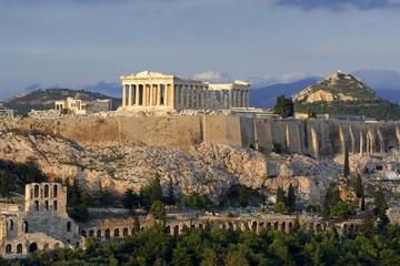 Embark or Disembark half day tour to the highlights of  Athens with Transfers