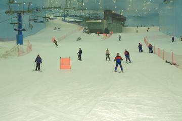 Discese sulle piste di Ski Dubai