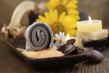 Envoltura corporal con rassoul árabe, masaje y tratamiento facial en...