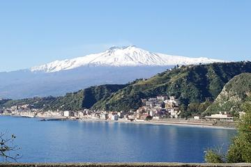 Mt Etna and Taormina from port of Messina, Naxos-Taormina and Catania