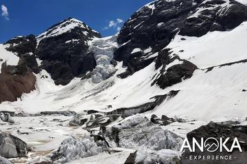 Hanging Glacier Trekking inside Andes Mountain Range