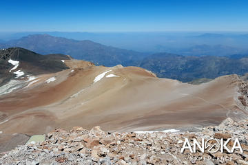 Trekking to Pintor Summit at 4000 of height, Ski centers and more in Santiago
