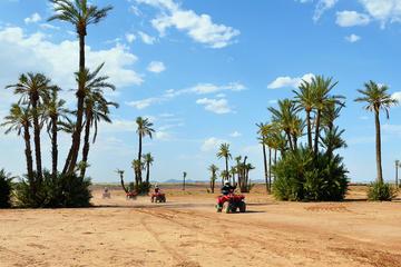 Excursão de camelo e motocicleta de quatro rodas saindo de Marrakesh