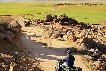 Quad bike-tour door woestijn en palmentuin vanuit Marrakech