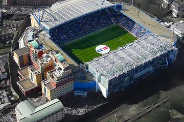 Partita di calcio del Chelsea allo