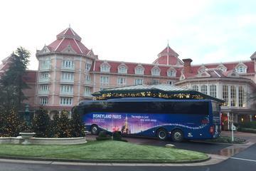 Round-Trip Coach Transport to Disneyland Paris from Central Paris