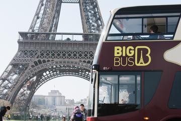 Excursión en autobús Big Bus con paradas libres por París