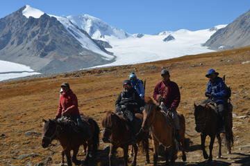 Altai trek, western Mongolia 10 days