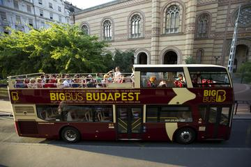 Big Bus Budapest hoppa på/hoppa av-rundtur