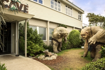 Visite de Weta Cave Workshop