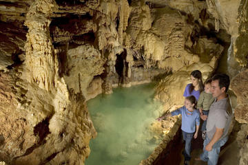 Natural Bridge Caverns Underground Walking Tour