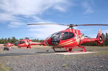 25- oder 45-minütiger Hubschrauberrundflug über den Grand Canyon...