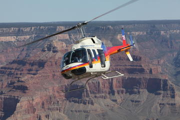 Helikoptertour over de North Canyon met optionele jeepexcursie