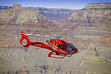 Passeio de helicóptero na margem oeste do Grand Canyon saindo de Las...