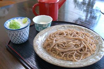 札幌からの送迎付き蕎麦打ち教室