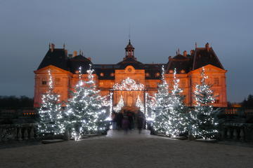 Excursion de Noël privée de Paris au Château de Vaux-le-Vicomte