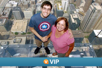 Viator VIP: Früher Zutritt zum Willis Tower Skydeck...