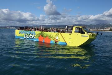 Sortie en véhicule amphibie à Hawaï: visite touristique d'Honolulu
