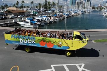 Visite des villes de Pearl Harbor et Honolulu Duck Tour