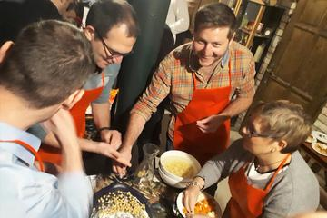 Goulash Cooking and Wine Tasting in Budapest