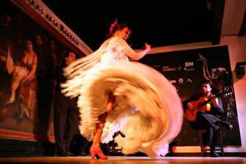 Espectáculo de flamenco en el Corral de la Morería, en Madrid