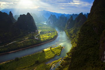Privat Guilin Xianggong Hill Day Tour...