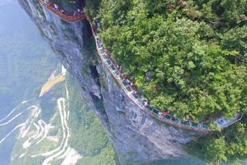 Private Zhangjiajie Tianmen Mountain Tour Including Lunch