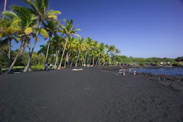 ハワイ島1日ツアー:火山、滝、観光、歴史、少人数グループ