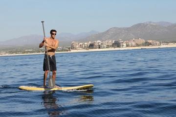 Clase de surf de remo en Los Cabos
