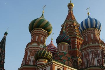 Moscow Behind the Icons with Pushkinskaya Square Red Square and St...