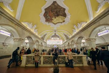 Moscow Metro Underground Small Group Tour