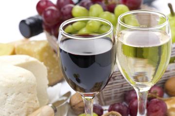 Dégustation de vins et de fromages français à Nice