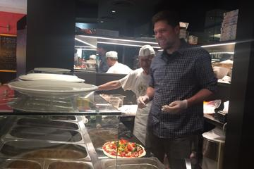 Pizza cooking class experience