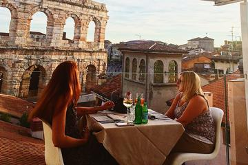 Rooftop Food and Wine walking tour with Sunset apertif