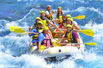 RAFTING ON BY WHITE WATER
