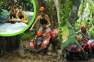 Bali ATV Adventure Combination White Water Rafting Ubud