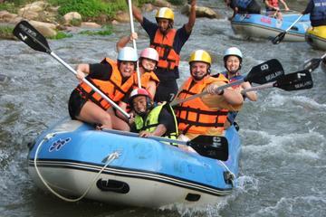 Aventura en quad y rafting en aguas bravas desde Phuket
